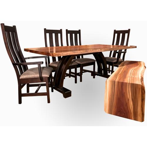 Live Edge Dining Room Set