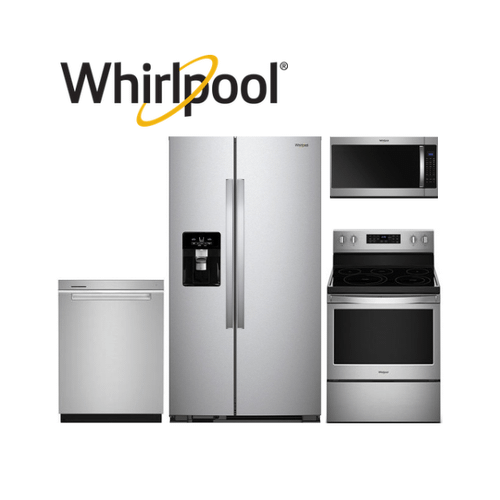 View Product - Whirlpool 4 Piece Stainless Steel Kitchen Package