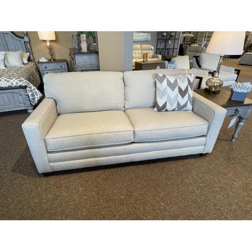 Bassett Furniture - SLEEPER SOFA QUEEN IN STRAW COLOR