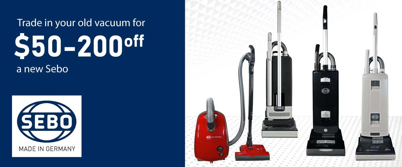 Shop Sebo Vacuums