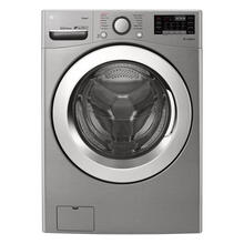 4.5 cu.ft. Ultra Large Capacity Front Load Washer with Steam and Wi-Fi Connectivity in Graphite Steel