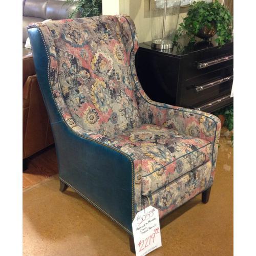 Chair tivoron peacock