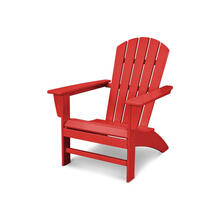 Nautical Adirondack Chair in Vintage Sunset Red