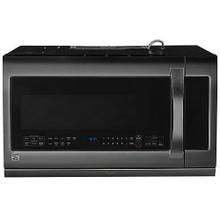 2.2 cu. ft. Over-the-Range Microwave Oven - Black Stainless