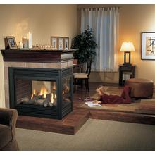 Panorama P131 Three Sided Direct Vent Gas Fireplace