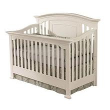 Medford Lifetime Convertible Crib in White