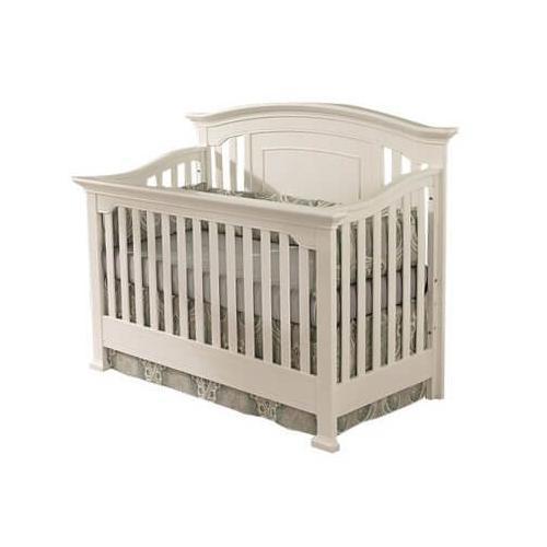 Medford Lifetime Convertible Crib in White