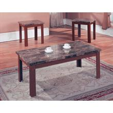 FAUX MARBLE 3PK TABLES