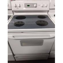 White Kenmore Glass Top Range  (This may be a Stock Photo, actual unit (s) appearance may contain cosmetic blemishes. Please call store if you would like additional pictures). This unit carries our 6 Month warranty, MANUFACTURER WARRANTY and REBATE NOT VALID with this item. ISI 36951 W