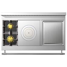 Chateau 120 (E5) - 2-Gas Burners - 1-French Plaque - 1-Teppanyaki