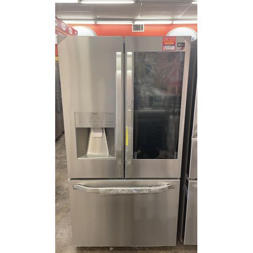 Treviño Appliance - LG French Door Smart Refrigerator with Instaview Door-In-Door in PrintProof Stainless Steel