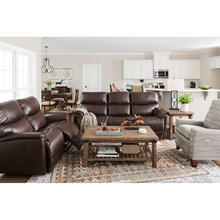 Trouper Leather Reclining Sofa