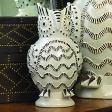 Owl Vase-Sm