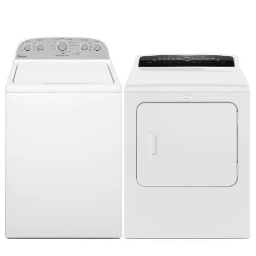 Packages - WHIRLPOOL 4.3 cu. t Top Load Washer with Quick Wash & 7.0 cu. ft. Electric Dryer - Open Box