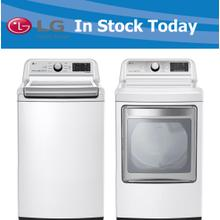 LG Top Load Washer and Dryer Set