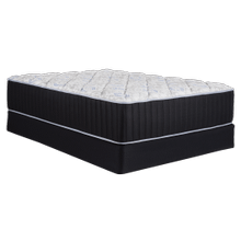 FLOOR SAMPLE MATTRESS with BOXSPRING - Southerland - Evolution Hybrid NXT - Ebony - Plush