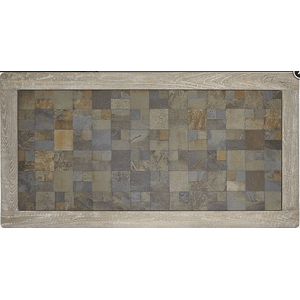 Null Furniture Inc - Rectangular Cocktail  in a distressed Acorn finish       (9918-01,52986)