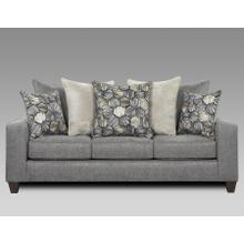5800 Sparkle Graphite Sofa Only