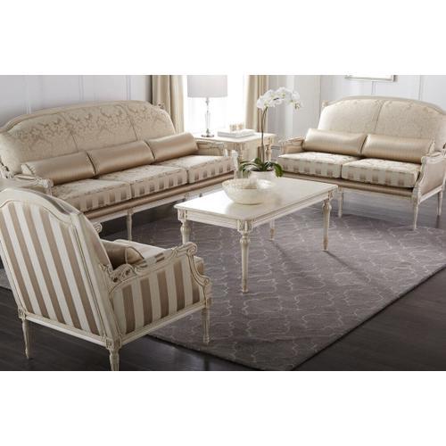 Continental Furniture Ltd - Robespierre Plain - Love Seat