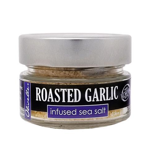 Olivelle Roasted Garlic Infused Sea Salt