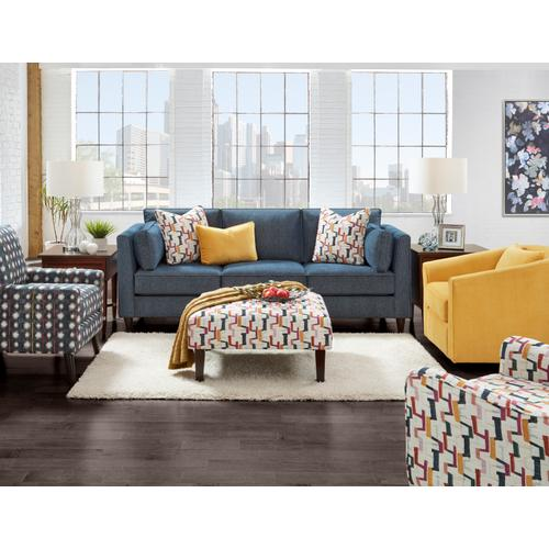 Fusion Furniture - Confetti Cocktail Ottoman