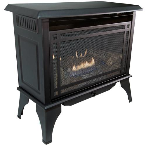 Comfort Glow - WORLD HEATER GSD2846 The Monterey Propane (LP) or Natural Gas (NG) Vent-Free 30,000 BTU Gas Stove