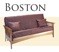 Solid Oak Futon Frame - Boston