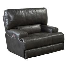 Power Headrest w/Lumbar Lay Flat Recliner