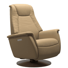 See Details - Max Small Power Swivel Rocker Recliner with Power Headrest and Lumbar