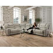 988 Breckenridge Reclining Sectional LT Gray Product Image