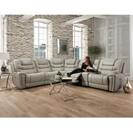 988 Breckenridge Reclining Sectional LT Gray