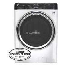 View Product - GE® 5.0 cu. ft. Capacity Smart Front Load ENERGY STAR® Steam Washer with SmartDispense™ UltraFresh Vent System with OdorBlock™ and Sanitize Allergen