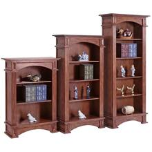 5 Shelf Fluted Bookcase
