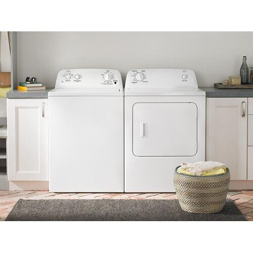 Roper 3.5-cu ft High Efficiency Top-Load Washer & 6.5 cu. ft. Top-Load Electric Dryer with Automatic Dryness Control