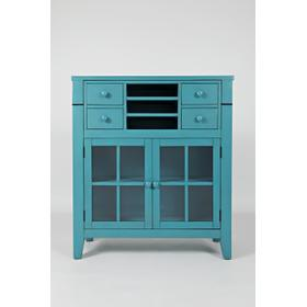 Accent Desk Avery Seashore Blue