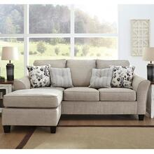 Abney Driftwood Sofa W/Reversible Chaise