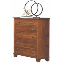 See Details - Briarwood- Grand Haven Mission 6 Drawer Chest