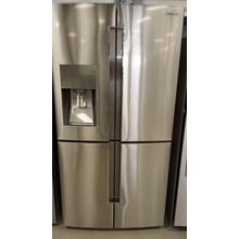 See Details - 23 cu. ft. Counter Depth 4-Door Flex™ Refrigerator with FlexZone™ in Stainless Steel