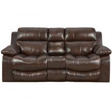 See Details - CATNAPPER LEATHER POWER RECLINING LOVE SEAT WITH CONSOLE