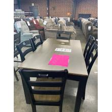 See Details - Table With Six Chairs