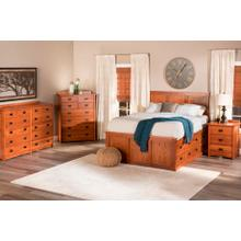 Product Image - American Mission Storage Bed in Quarter Sawn Oak Color #13