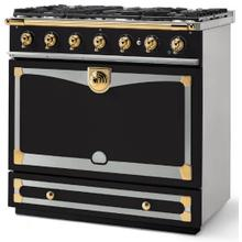 Matte Black Albertine 90 with Polished Brass Accents