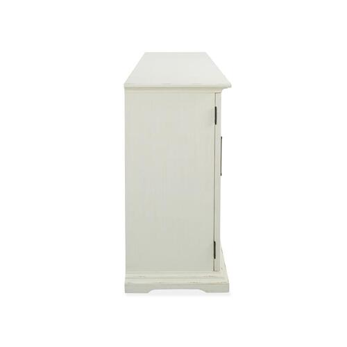 Mosaic White 4-Door Console