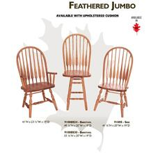 Feathered Jumbo Chair