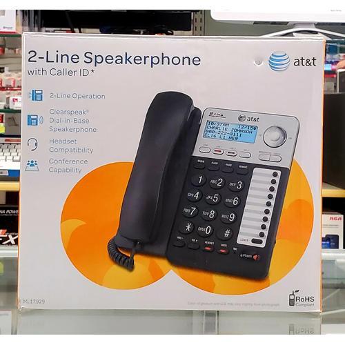 AT&T - AT&T 2-Line Speakerphone