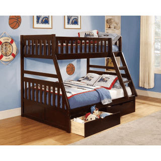 Rowe Bunk Bed Twin on Full with Storage Drawers