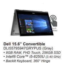 """Dell 15.6"""" Convertible"""