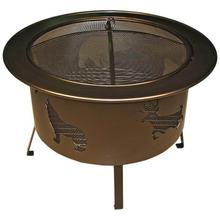 Large Round Fire Pit