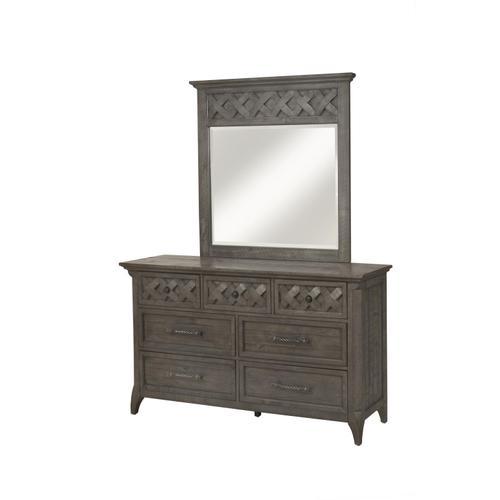 Mendocino - Grey 6 Piece Bedroom Set