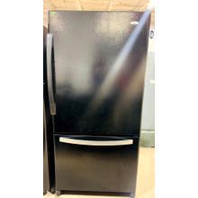 Used 21.9 cu. ft. ENERGY STAR® Qualified Bottom-Freezer Refrigerator- BMBLK33-U SERIAL #1